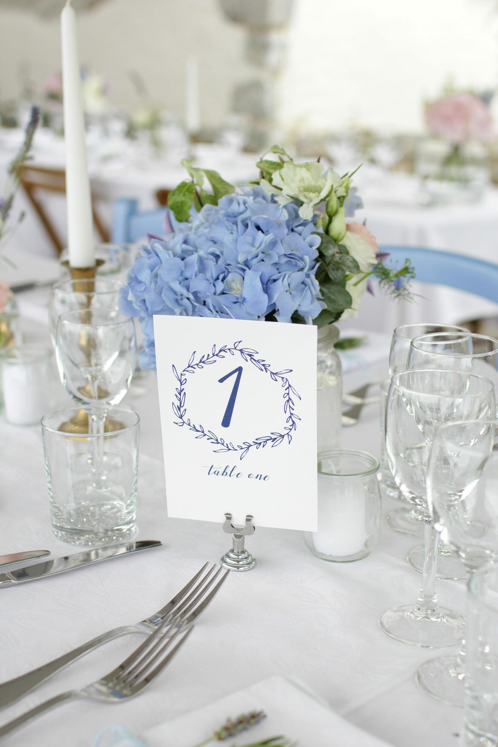 Décoration de travers de table pour vos réceptions