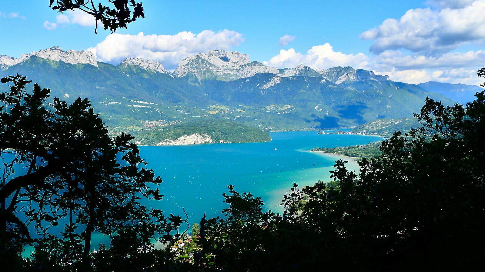 Circuit des Trois Croix Sevrier Randonnee lac d'Annecy