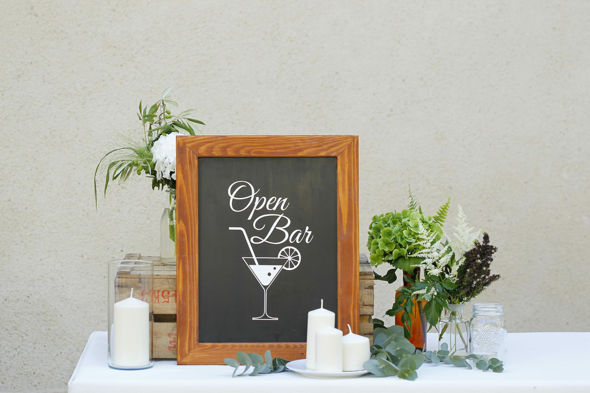 Réception et cocktail pour mariages et séminaires