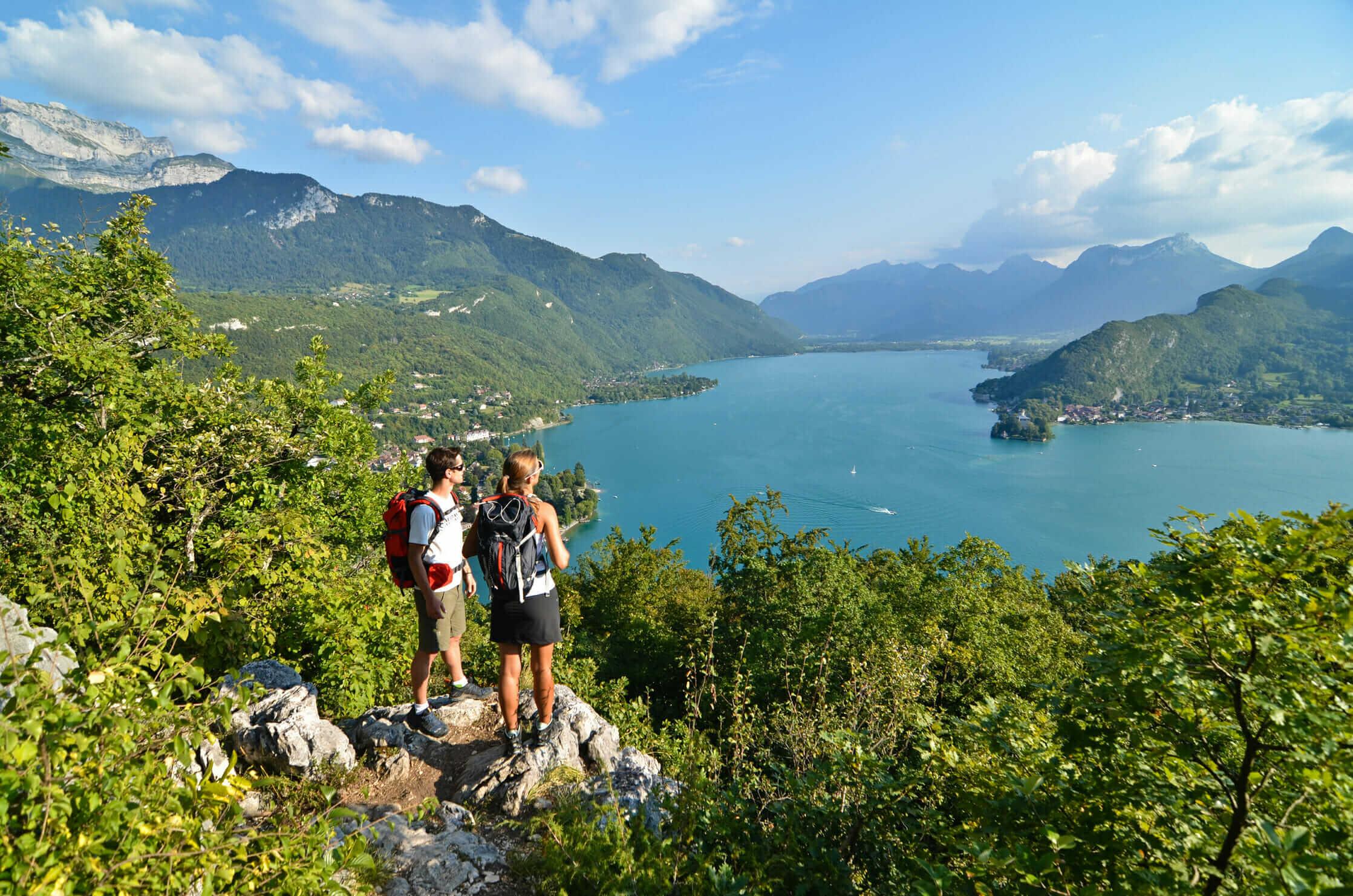 Randonnée au lac d'Annecy
